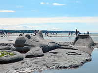 Birch Bay Sand CAstle Contest