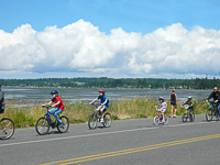 Birch Bay Family Bike Riding